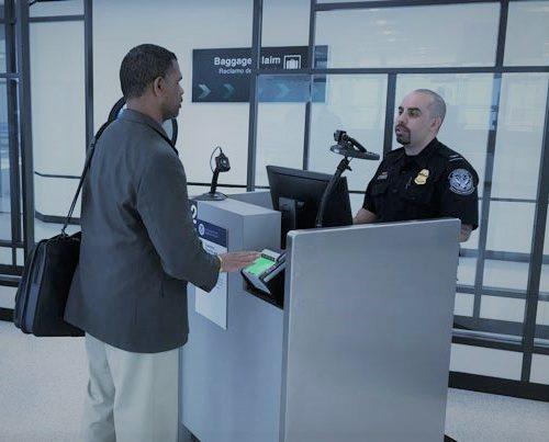 Thanks to Biometrics CBT can screen 10 passengers per minute