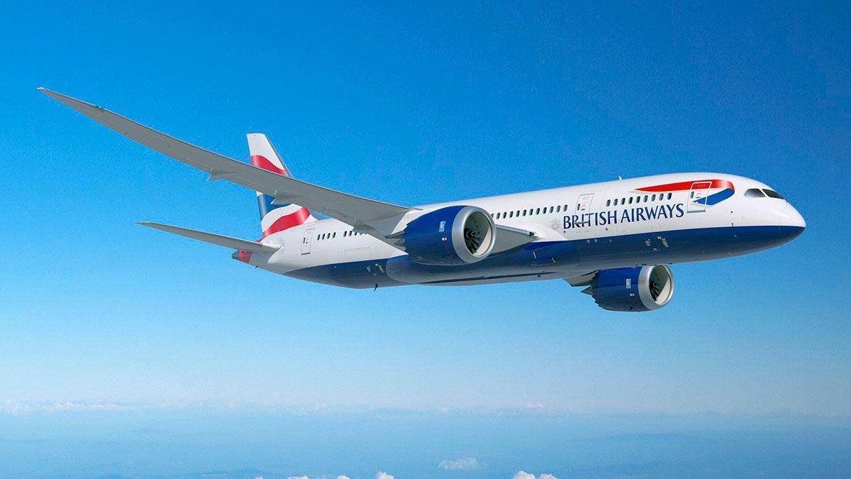 BA Boeing 787 Dreamliner