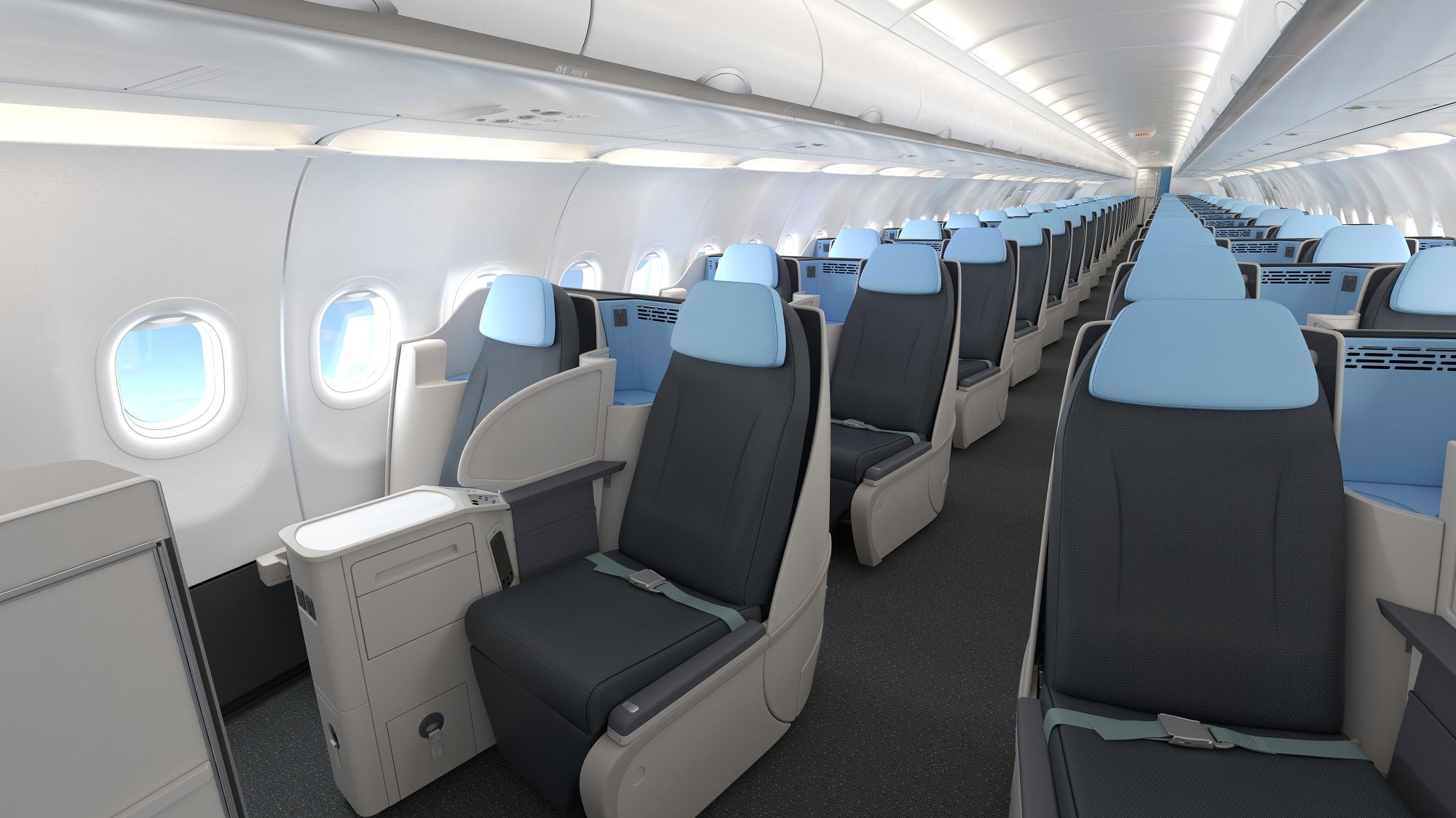 Cabine A321neo - Avant - petit