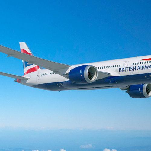 British Airways will fly from Charleston, South Carolina