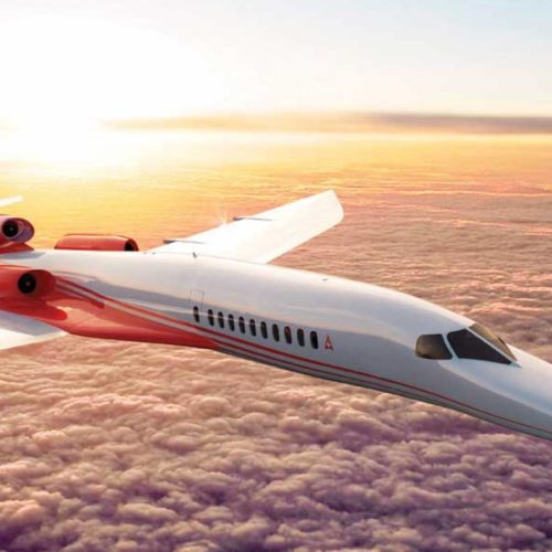 First supersonic business jet on track to fly in 2023