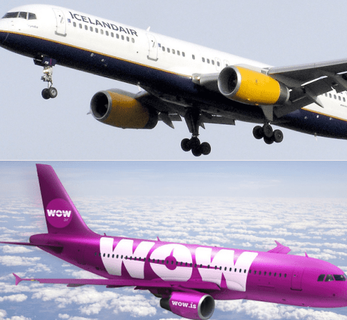 Icelandair Group leaves Wow air to fend for itself