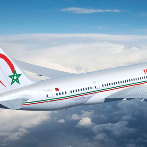 Royal Air Maroc part à Boston