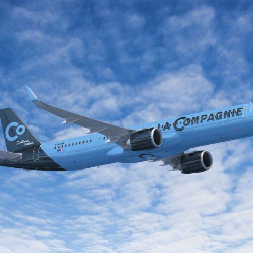 La Compagnie reçoit son premier A321 Neo