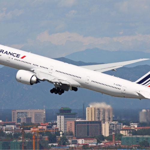 Premier vol Air France vers la Chine après cinq mois d'interruption